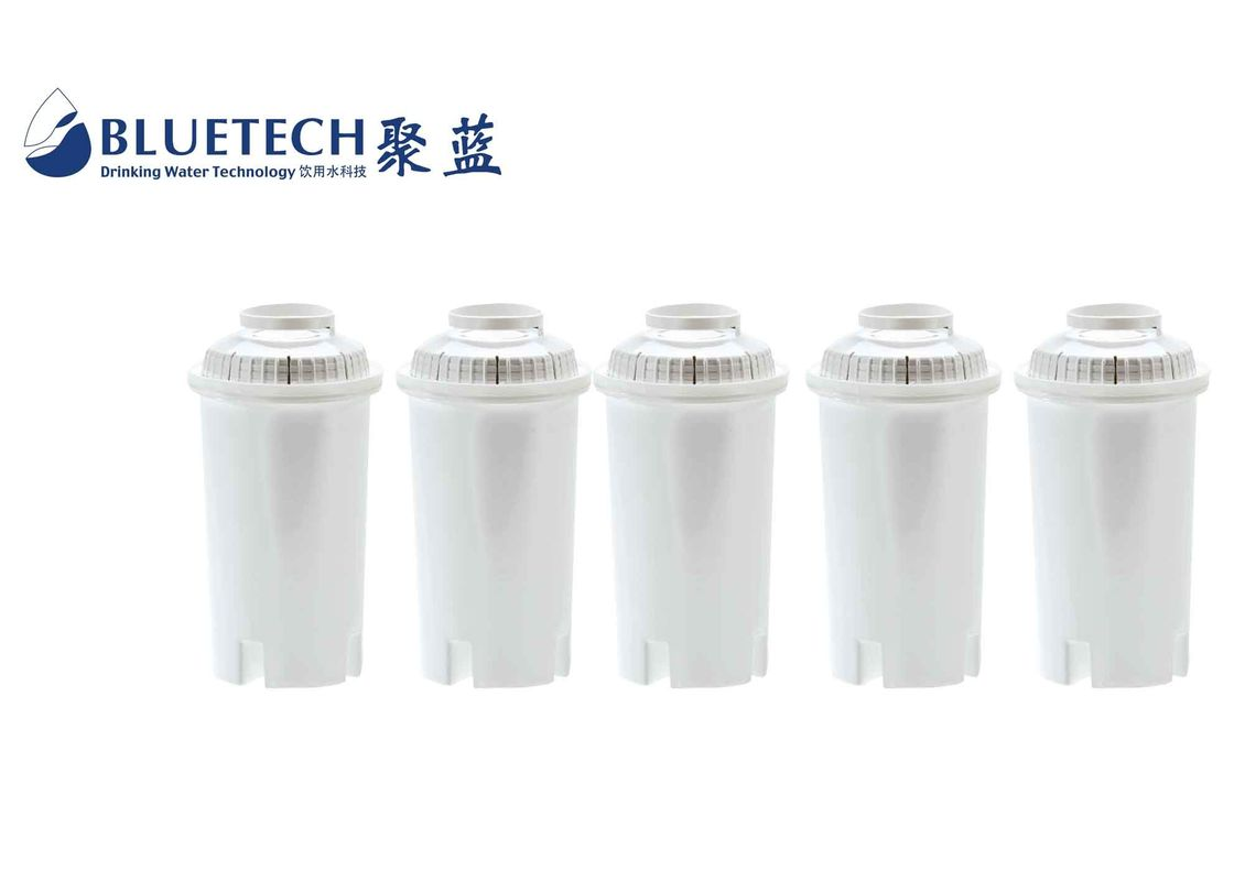 Replacement universal water filter cartridges with 160L lifetime improving water quality